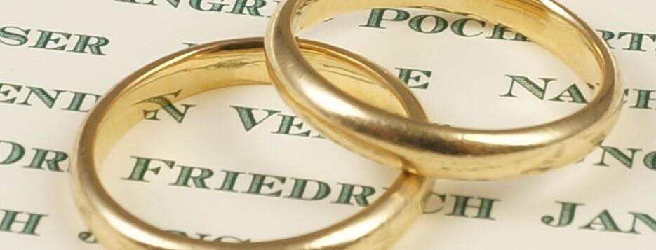 Hochzeitsdrucksachen - Beispielangebote