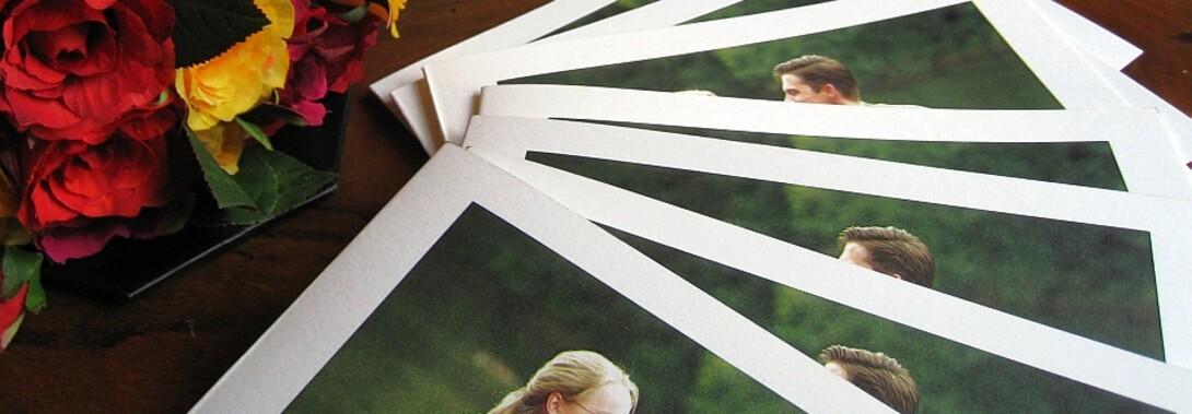 Druckateur - Verlobungsanzeigen mit klassischen Vorlagen selbst gestalten - Fotos online drucken