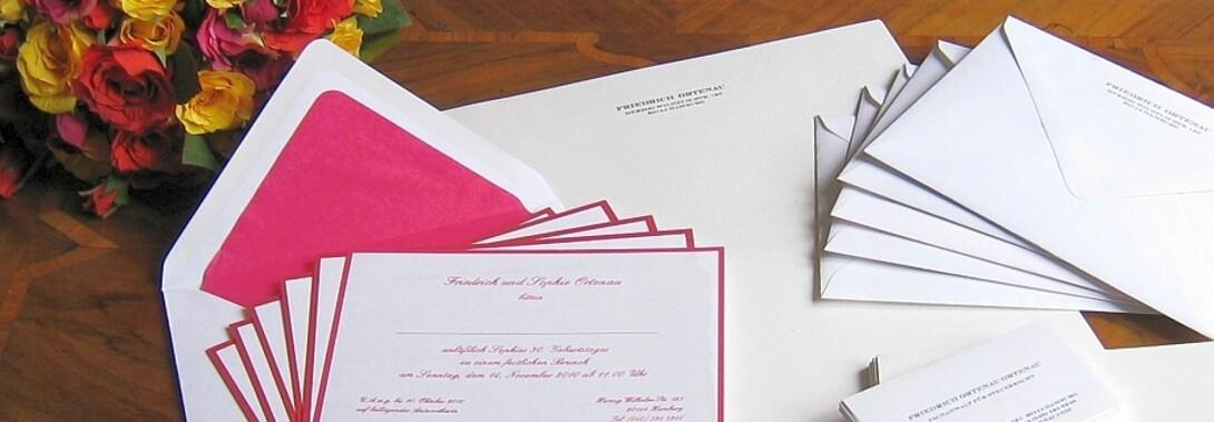 Druckateur - klassische Einladungskarten online gestalten und drucken